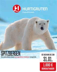 Spitzbergen mit Bordguthaben